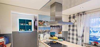 Küchendecke und Beleuchtung gestalten - PLAMECO Decken Siegen