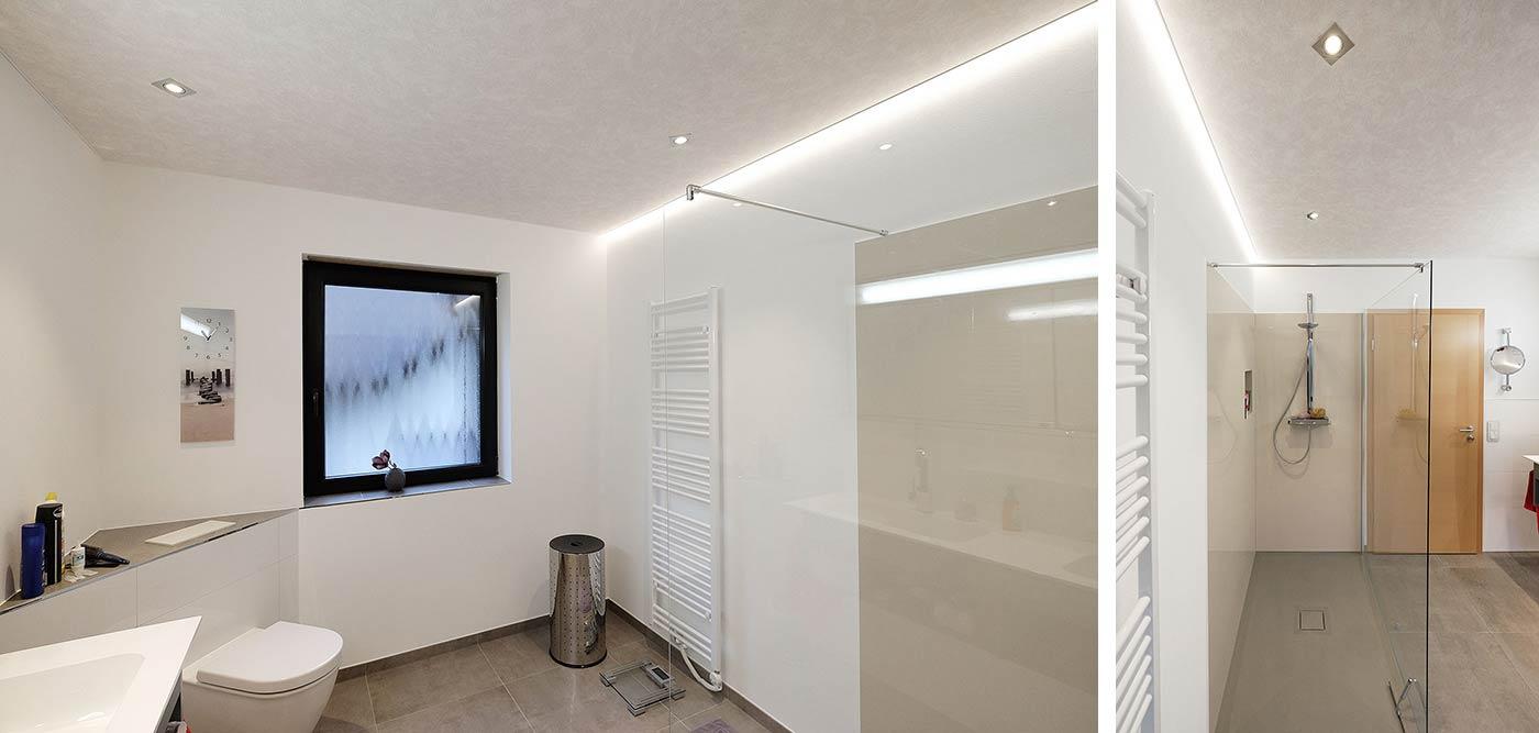 Neues Badezimmer & Badezimmer Decke in Kirchhundem