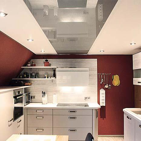 Küchendecke renovieren - Spanndecken Siegen - PLAMECO