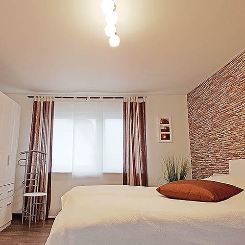 Schlafzimmerdecke in Siegen renoviert