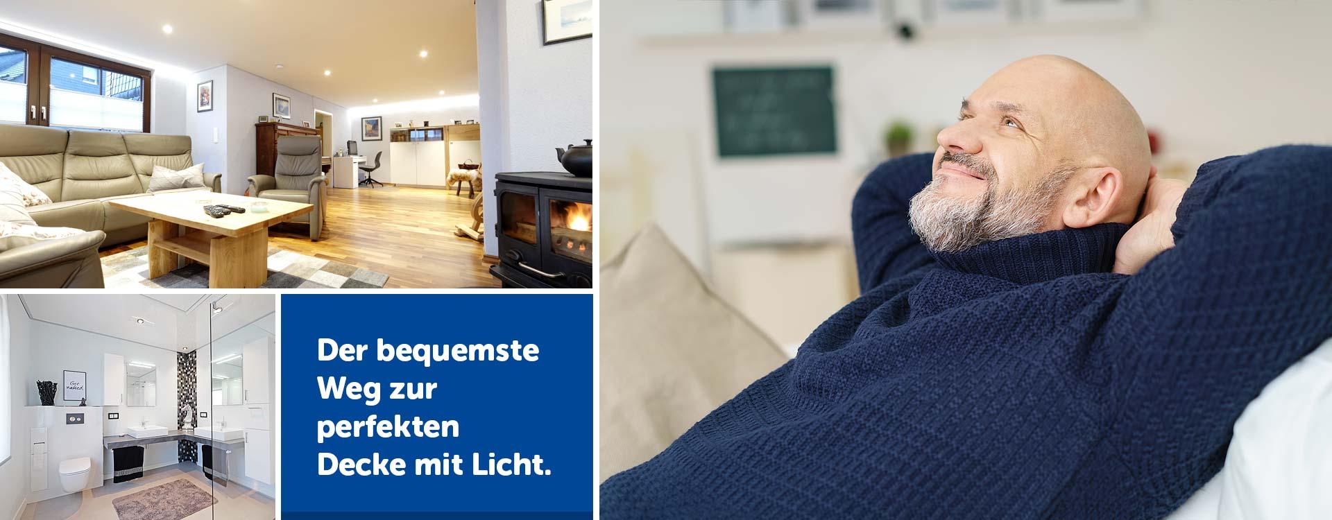 PLAMECO Spanndecken Siegen - Decke renovieren schnell und sauber
