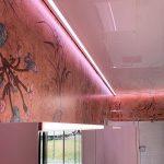 LED-Beleuchtung als indirekte Beleuchtung im LED-Profil