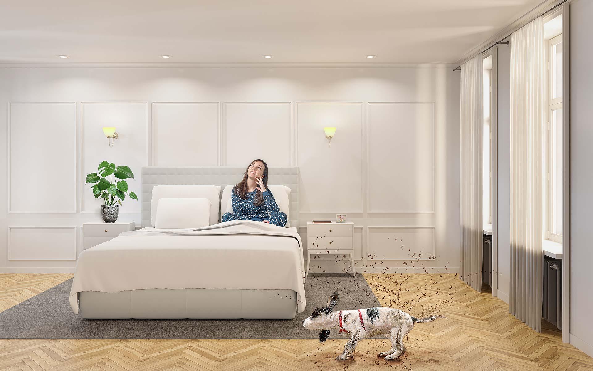Schlafzimmer Decke Spanndecke - Siegen