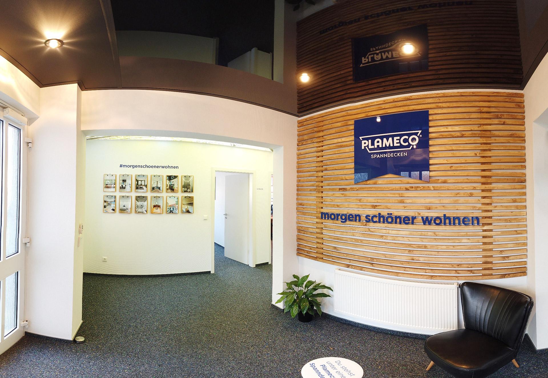 Plameco Spanndecken Virtuelle Ausstellung Lackdecke
