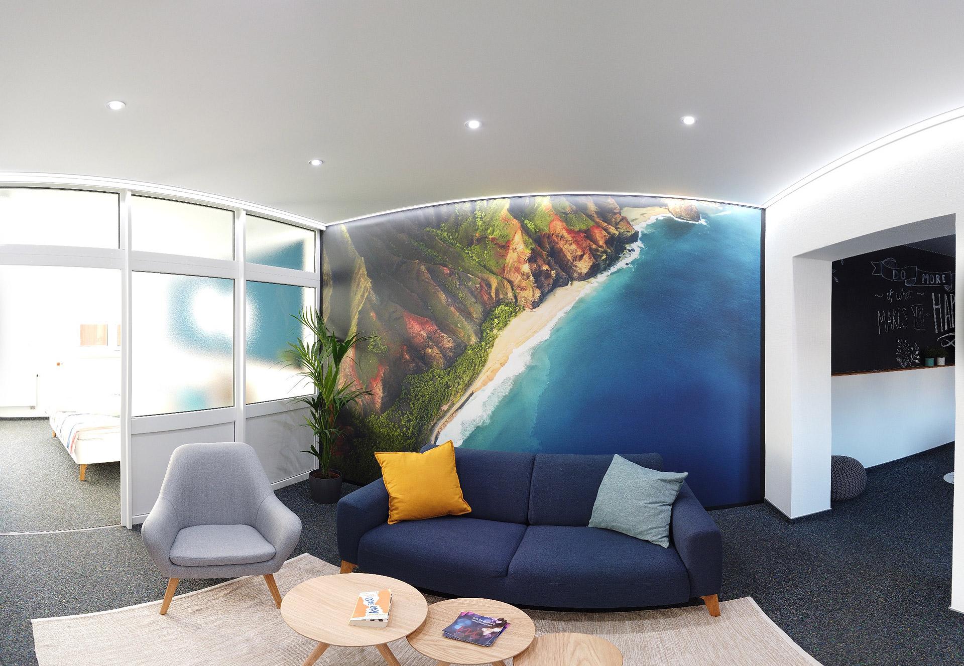 Wohnzimmer Tageslichtweiß - Human Centric Lighting
