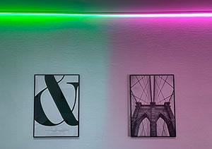 Indirekte Beleuchtung Decke - Farbbeleuchtung